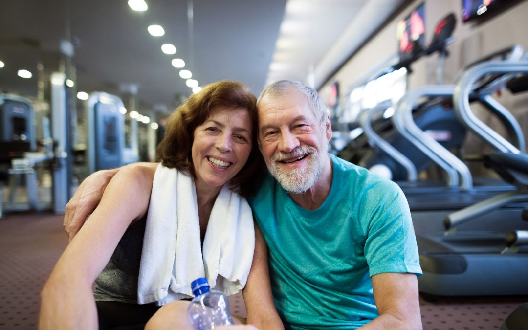 Social Seniors Go To the Gym